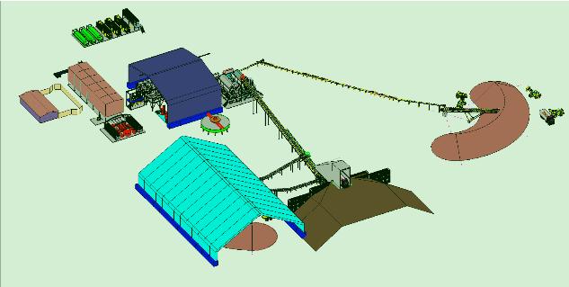 3D Plant Model Rendered